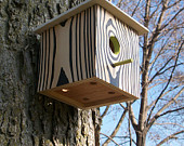Black birdhouse