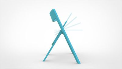Curva folding chair 2